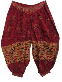 Hippie Boho Gypsy Indian Classic Palazzo Pants Batik Red Trouser Gauchos Mogul Interior,http://www.amazon.com/dp/B00C56BZCO/ref=cm_sw_r_pi_dp_KFgxrb64C6A140AD