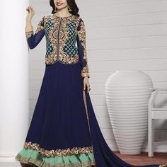 Prachi Desai Designer Party Wear Bollywood Anarkali Suit » Shoppers99 #anarkalidress #anarkalisuit #pink #blue‬ #partywear #partydress‬ #eid #lehengasuit #lehenga #anarkalilehenga #prachidesai #bollywoodactress #bollywood #anarkali #partywear #partydress #heroin #ethnicwear #ethnic