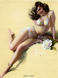 1940's Art by Rolf Armstrong