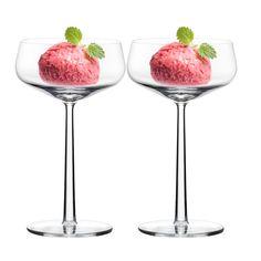 Essence dessertskål, 2-pack från Iittala – Köp online på Rum21.se