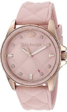 Juicy Couture Women's 1901371 Malibu Analog Display Japanese Quartz Pink Watch