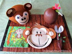 Monkey Birthday Party Ideas #KidsParties