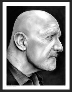 Jonathan Ray Banks (born January is an American actor. His first notable film roles were in the films Airplane!, and Beverly Hills Co. Mike Ehrmantraut on Breaking Bad Breaking Bad 3, Jonathan Banks, Graphite Drawings, Netflix And Chill, American Actors, Designs To Draw, Instagram Images, Fan Art, Deviantart