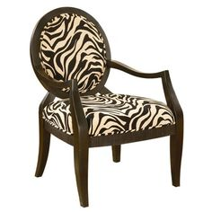 Safari Accent Chair from the Small Spaces, Big Style event via Joss and Main! $128.95 #josscontest