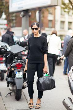back to black. Paris.