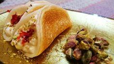 طريقة القطايف بالقشطة - So yummy katayef with heavy cream recipe