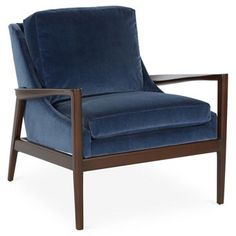 Check out this item at One Kings Lane! Ebonwood Chair, Mariner