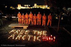 ESPAÑA Vos también podés sumarte al pedido. Pedí que Liberen a los activistas: http://grpce.org/H8R1rh  © Pablo Blazquez / Greenpeace