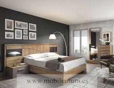 Dormitorios Modernos Lanmobel - Composición 14 Cabecero Silence - Catálogo Muse - Mobiliarium