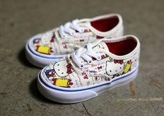 Hello Kitty x Vans Kids Summer 2014 Collection