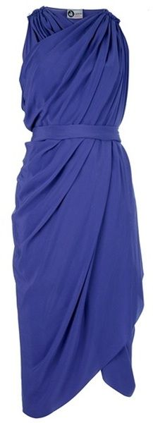 LANVIN Draped Dress