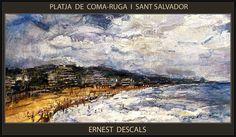 https://flic.kr/p/t4bGdQ | COMA-RUGA-SANT SALVADOR-PINTURA-PAISATGES-TARRAGONA-CATALUNYA-PLATJA-MARINA-ARTISTA-PINTOR-ERNEST DESCALS | COMA-RUGA-SANT SALVADOR-PINTURA-PAISATGES-TARRAGONA-CATALUNYA-PLATJA-MARINA-ARTISTA-PINTOR-ERNEST DESCALS- Disfrutando del Pintar los Paisajes de Tarragona en Catalunya, la Pintura Paisajista me llena de satisfacciones personales, cuando estoy Pintando las Playas de COMA-RUGA i SANT SALVADOR con sus multitudes entrando en el Mar Mediterráneo y tomando el Sol…