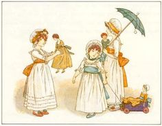 Dolls - Kate Greenaway's Book of Games, 1889