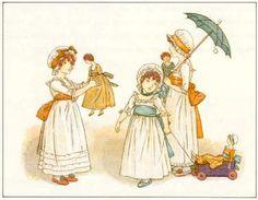 Dolls - Kate Greenaway's Book of Games, 1889