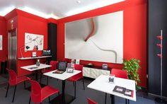 Cafetería, rincón del café, Nespresso, prensa y sobre todo una atención totalmente personalizada. Así es nuestro salón del pintor