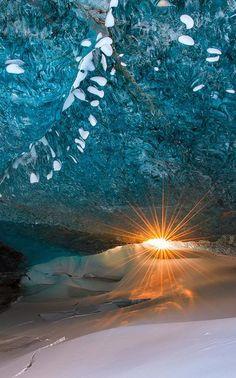 The Vatnajökull glacier, Iceland.