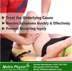 Take at look at what we can do and how we can help! Contact us today! http://www.metrophysio.co.uk/contact?