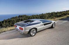 Maserati Boomerang Concept · Designed by Giorgetto Giugiaro