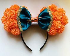 (Brave) Merida Floral Ears