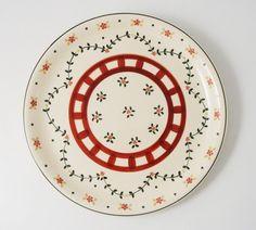 Piatto Portata Rotondo in ceramica Kergrès  - Wald - Attimi di Impronte