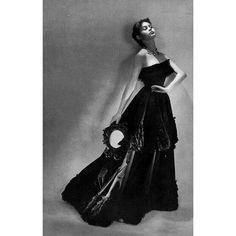 Brigitte Bardot in Balenciaga, photo by Georges Saad, 1951