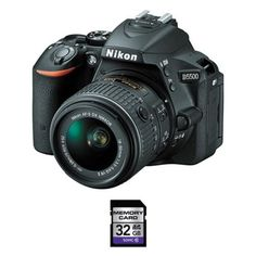 Nikon D5500 DSLR Camera #ad