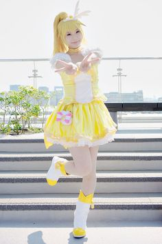 Pretty Cure Cosplay Cure Peace (Yayoi) Smile Precure