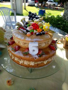 Naked cake lindo!