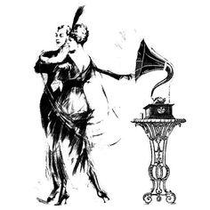 Винтажные картинки в черно-белом исполнении. Обсуждение на LiveInternet - Российский Сервис Онлайн-Дневников