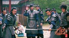 The Woodalchi warriors in Faith Korean drama
