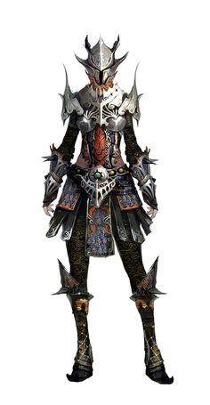 Female Slender Plate Armor - Pathfinder PFRPG DND D&D d20 fantasy