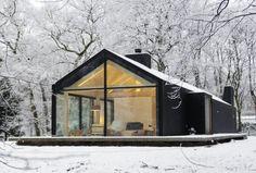 10 cabane ideale pentru vacanţa de iarnă