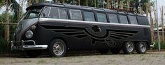 Black Matte VW Limo