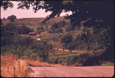 Countryside near Route #800 and Barnesville, Ohio, in the Southeastern Part of the State. This Land Has Not Been Touched by Strip Mining. 07/1974