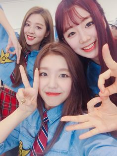 Sehyung, Gowoon, and Daye