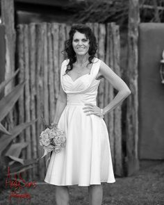 Becky Boyles Was A Beautiful Blushing Bride In The Trashy Diva Honey Dress Antique White