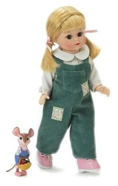 Madame Alexander 8 Inch Storyland Collection Doll - Country Mouse by Madame Alexander, http://www.amazon.com/dp/B000O94RUG/ref=cm_sw_r_pi_dp_KpMFrb12BR9WE