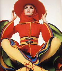 1960s fashion photo by David Bailey