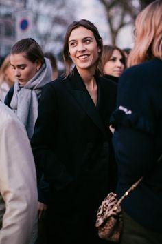 Street style à la Fashion Week automne-hiver 2017-2018 de Londres : Alexa Chung