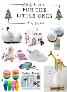 Holiday Gift Guide // For the Little Ones