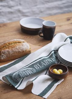 Made in Ireland from Blarney Irish Linen and designed exclusively for Blarney Woollen Mills, this tea towel is perfect to add to your homeware collection. Irish Men, Tea Towels, Ireland, Crystal, Embroidery, Dish Towels, Needlepoint, Irish, Flour Sack Towels