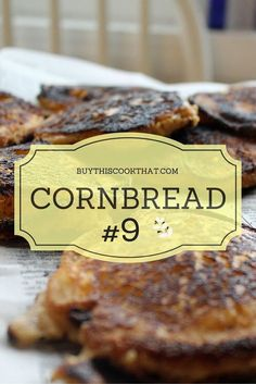We HEART cornbread.Part of me wishes I had a standard cornbread recipe, but the real part of me loves the fact that we make it differently every time.