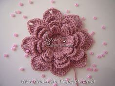 Silvia Gramani Crochet: Walkthrough Flower Crochet