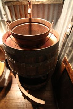 Napa Valley Wine Barrel Sink French oak with by theGypsybird, $950.00