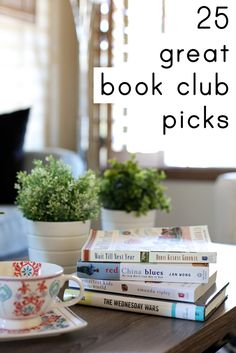 Wondering what books are worth picking for a book club? These 25 are all sure to spark lively discussion!