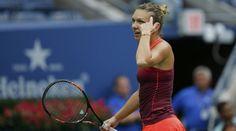 Simona Halep s-a calificat in finala Roland Garros, dupa cu Karolina Pliskova Simona Halep, Greek Language, Us Open, Tennis Racket, Two By Two, Sports, People, Descendants, Tennis