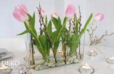 DIY: Schnelle Frühlingsdeko für den Tisch