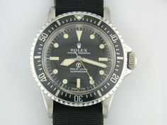 1970 Oyster Perpetual Submariner  Royal Navy Frogmans Watch VERY RARE!!