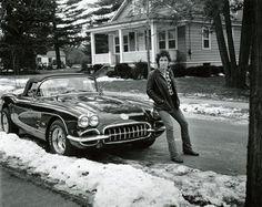 Bruce Springsteen Poster Corvette 24in x36 in