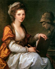 Self-portrait – Angelica Kauffman (1741-1807)